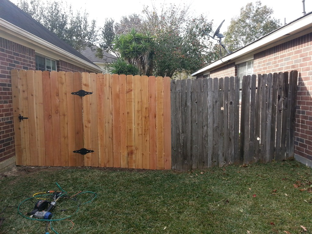 Gallery Fence Repair College Station